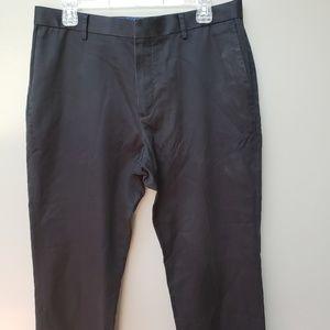 Banana Republic Dress Pants Black Slim Fit 33 x 32